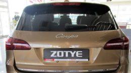 Zotye Coupa автосалон