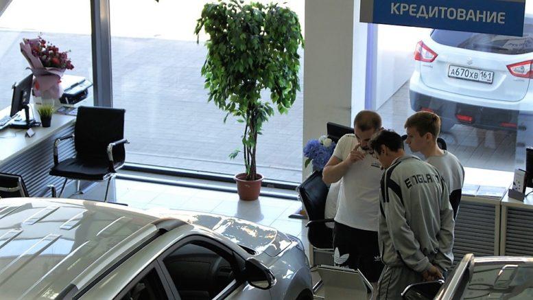 автосалон китайских автомобилей