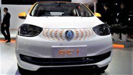 Новый китайский бренд автомобилей