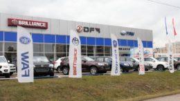 продажи новых китайских автомобилей