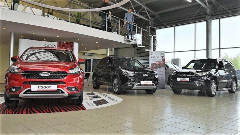 цены на китайские автомобили