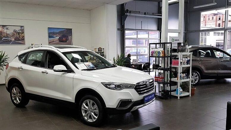 продажи авто FAW в России