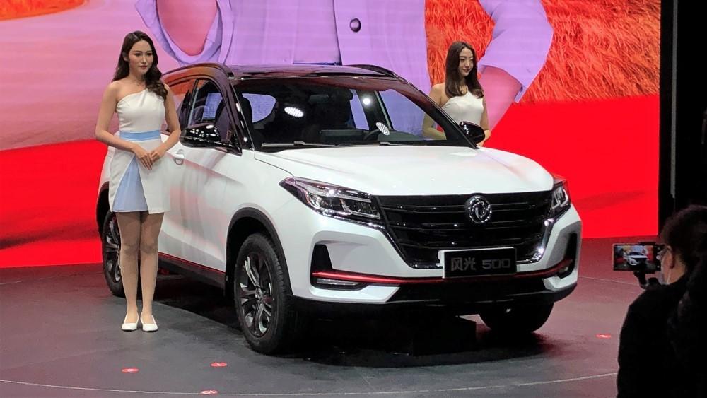Dongfeng привезет в Россию две премьеры Пекинского автосалона. Это кроссовер и пикап