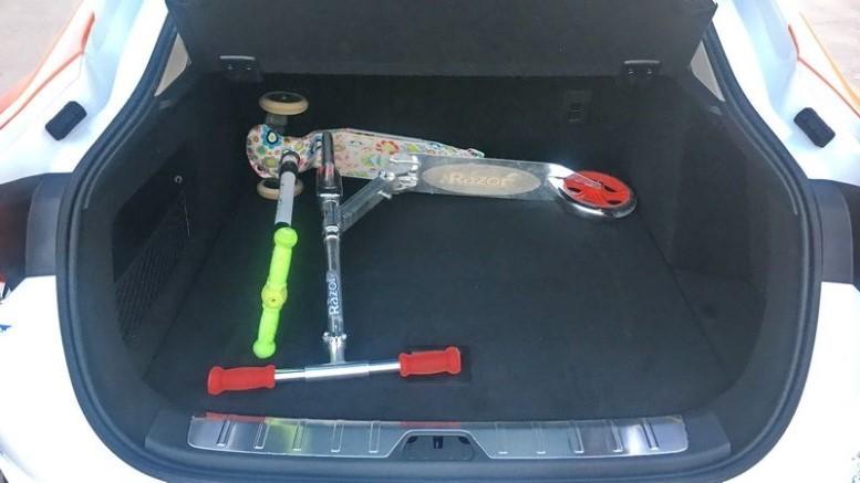Geely Tugella багажник