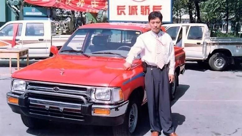 Вэй Цзяньцзюнь и его первый пикап
