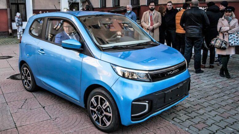 китайские электромобили Hoann EK01