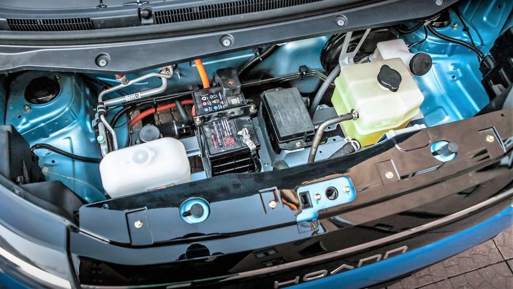 китайский электромобиль Hoann EK01
