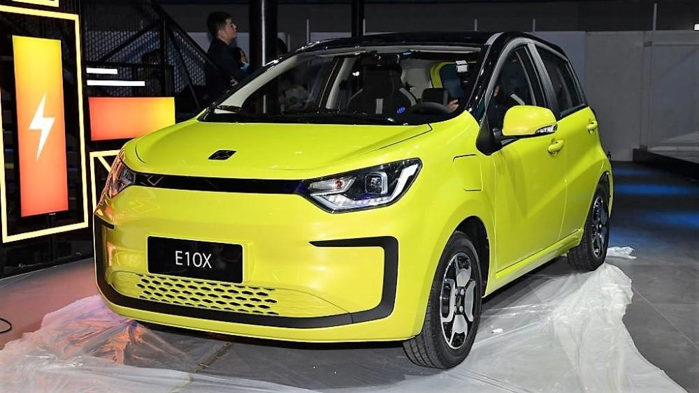 электромобиль JAC Sihao E10X