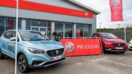 китайские электромобили MG в Великобритании