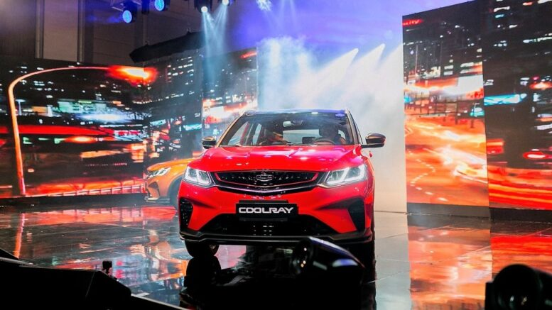 мотор Geely Coolray