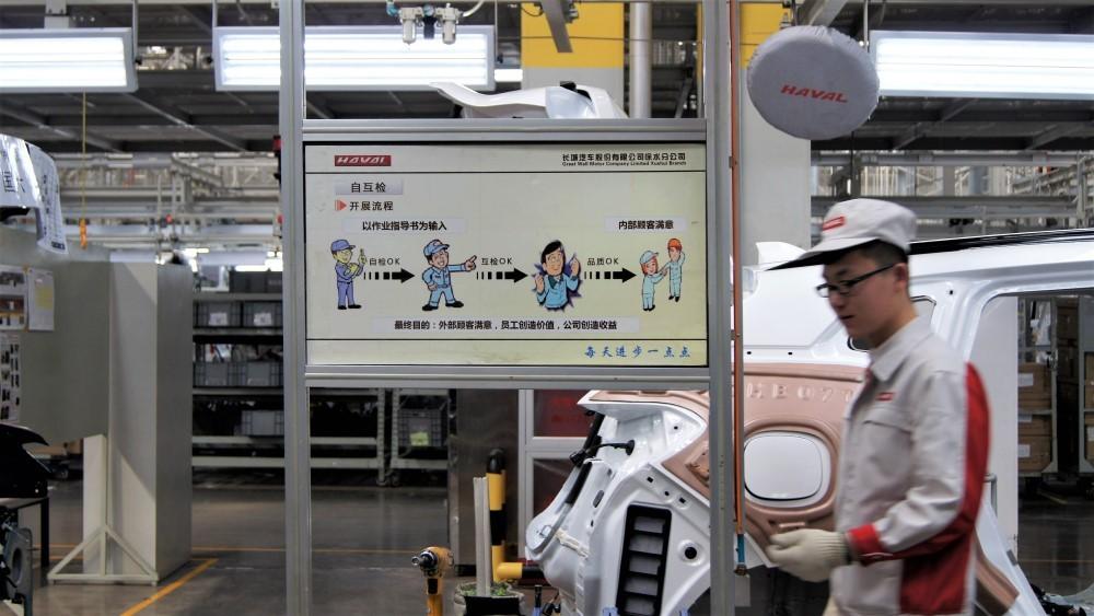 Завод Haval в Китае