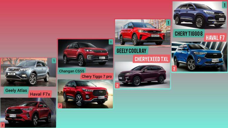 Какой из китайских автомобилей лучше