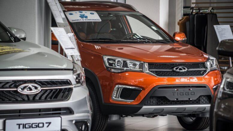 Продажи китайских автомобилей на украинском рынке