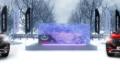 Красив во льдах. Не помешает ли погода необычной презентации Chery Tiggo 8 Pro