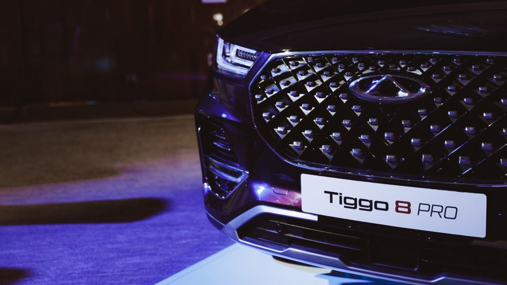 Chery Tiggo 8 Pro дизайн