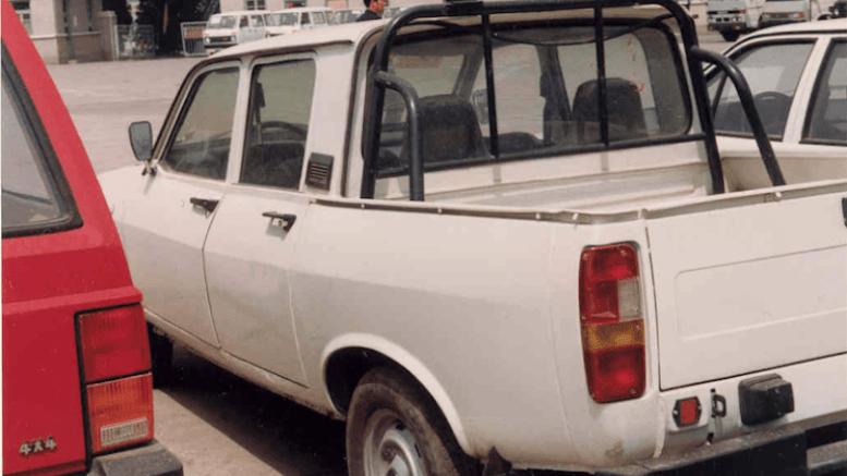 китайский пикап клон Dacia