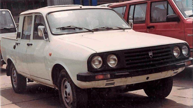 китайский пикап Xingtai клон Dacia