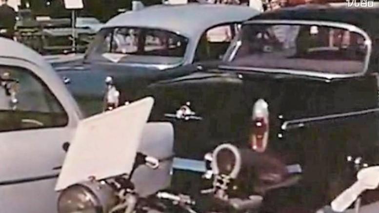 китайский автосалон 1958 года
