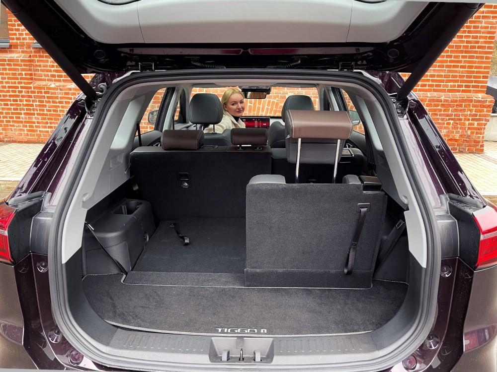 багажник Tiggo 8 Pro