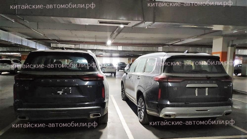 CheryExeed VX в России