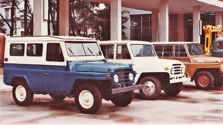 китайские внедорожники 1976 год