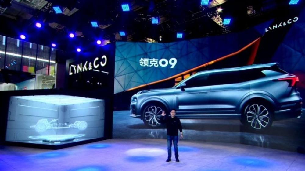 Lynk & Co на Шанхайском автосалоне