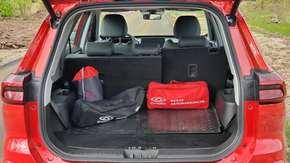 chery tiggo 8 DCT багажник