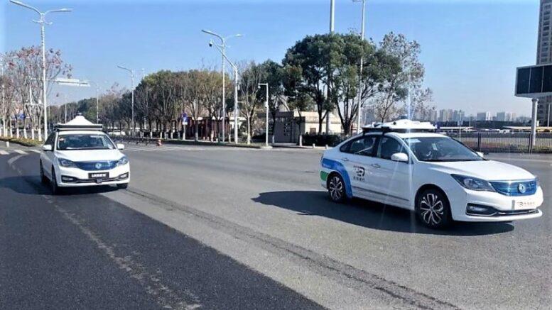 беспилотные автомобили Dongfeng Robotaxi