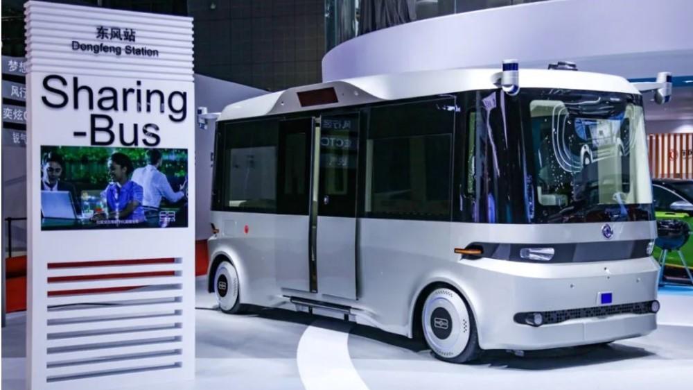 беспилотный автобус Dongfeng