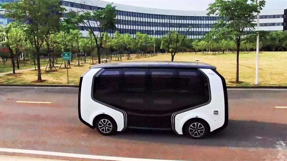 беспилотные автомобили Dongfeng