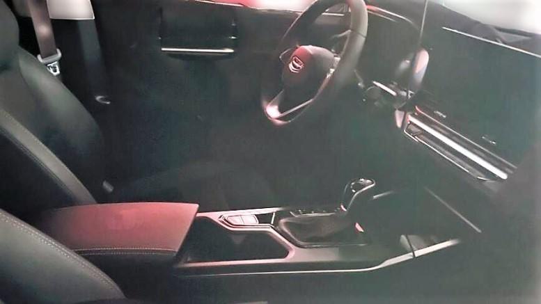 новый седан Geely Emgrand 7 салон