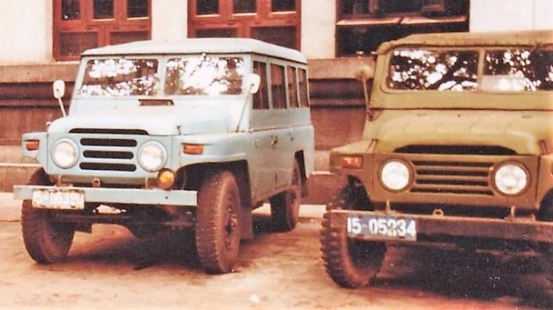 автомобили на базе BJ212
