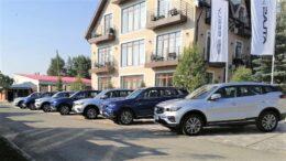 Geely Atlas Pro в Беларуси