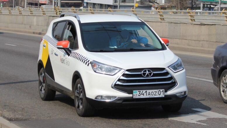 JAC S3 такси