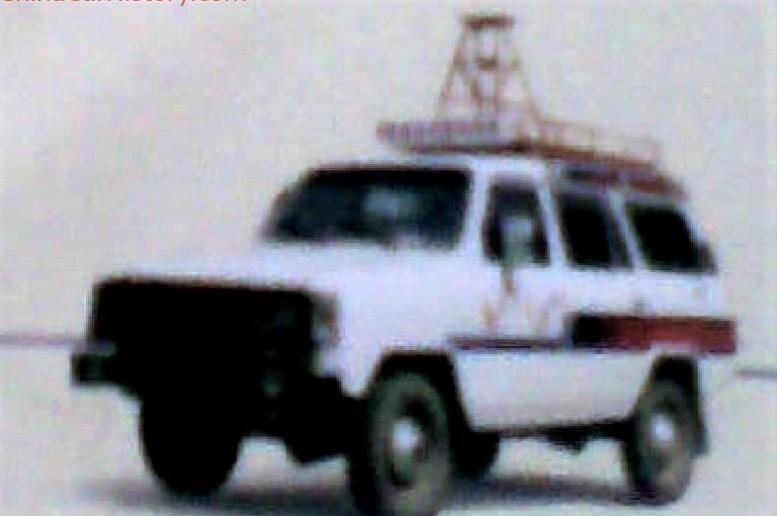 Shanlu CJY 6420B с радиовышкой
