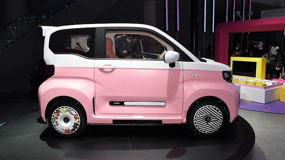 Chery qq1 розовый