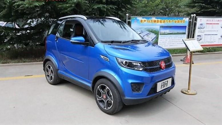 электромобиль Hongxing X2