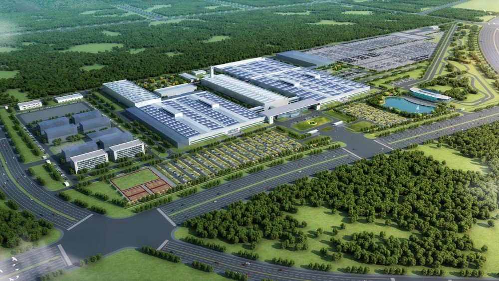 завод Lotus в китае