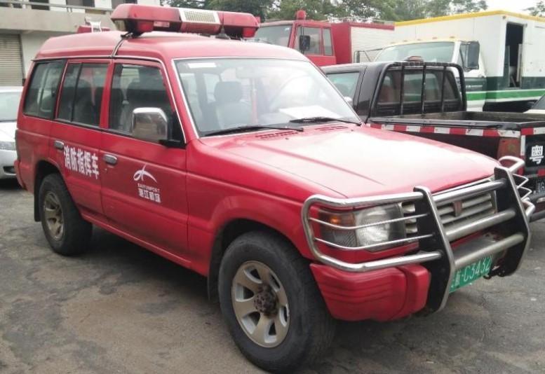 пожарный автомобиль в Китае