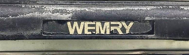 wemry логотип