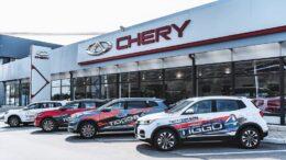 Продажи новых легковых автомобилей Сhery в Туле