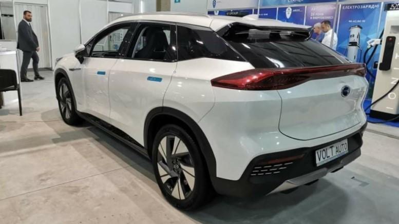 Китайские электромобили GAC Aion в Украине
