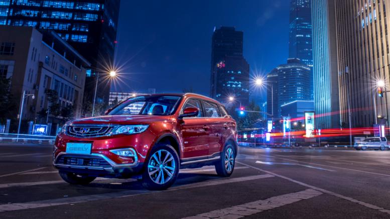 geely atlas самый востребованный китайский автомобиль в россии