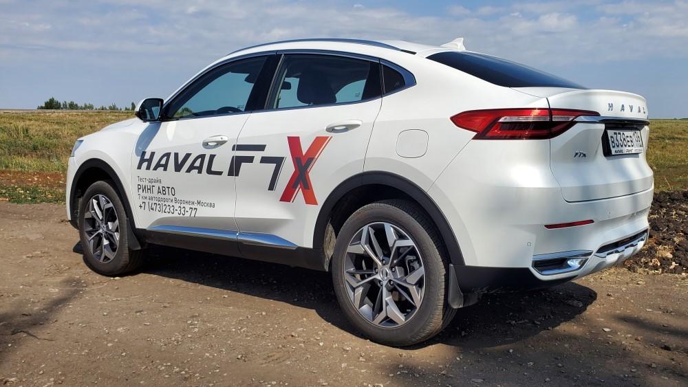 Haval F7x тест-драйв