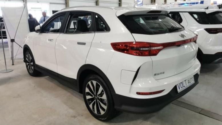 Китайские электромобили Weltmeister в Украине