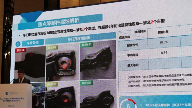 китайские автомобили ржавеют